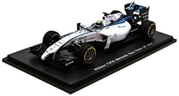 Felipe Massa Williams FW36 F1 GP 2014 1/43 Diecast by SPARK
