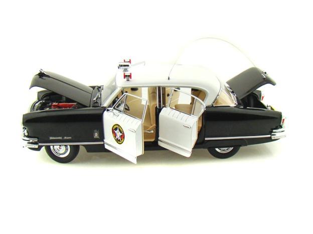 1952 Nash Ambassador Airflyte Kenosha County Sheriff Police Car by SunStar