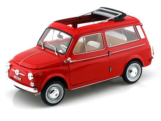 1960 Fiat 500 Giardiniera by Norev Diecast