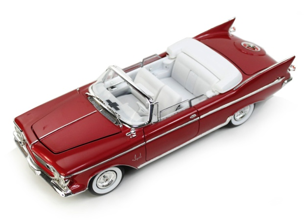 1961 Chrysler Imperial Crown with Removable Top Plum by Lucky Toys