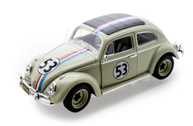 """1962 Volkswagen Beetle - Herbie """"The Love Bug"""" by Hot Wheels Elite"""