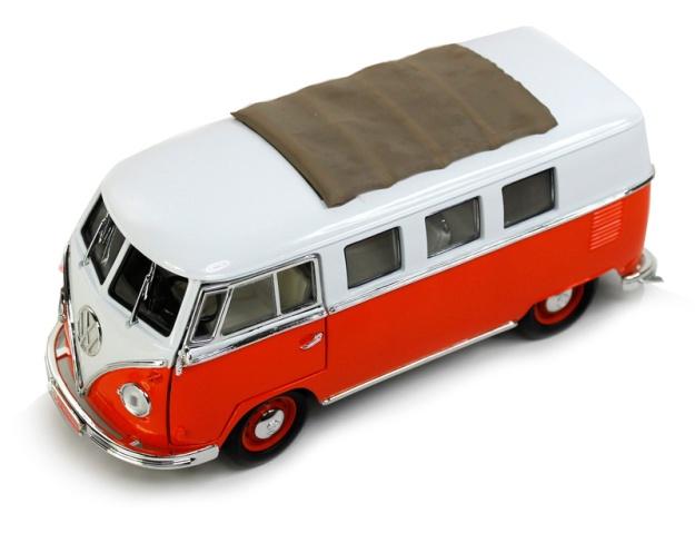 1962 Volkswagen Type 2 Microbus with Slide Sunroof Orange
