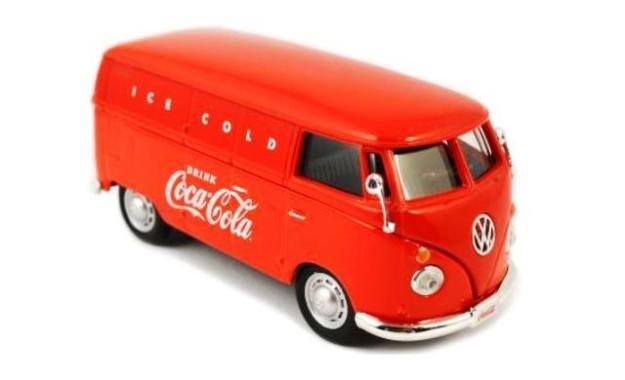 "1962 VW Coca Cola Vargo Van ""Ice Cold"" Red by Motor City Classics"