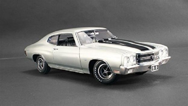 1970 Chevy Chevelle SS 396 Cortez Silver by Acme