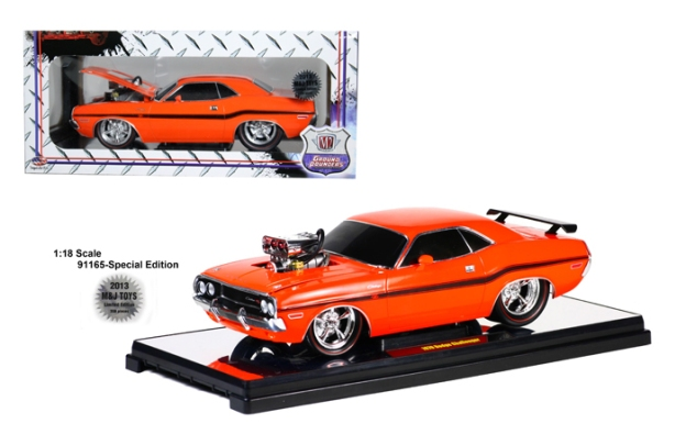1970 Dodge Challenger LTD 300 PC Orange by M2 Machines