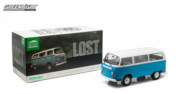 1971 Volkswagen Type 2 (T2B) Darma Van Television Show LOST by Greenlight Collectibles