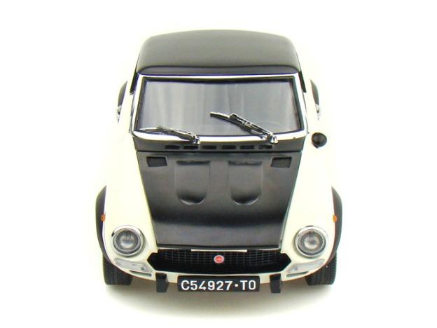 1972 Fiat Spider CSA White/Black by SunStar