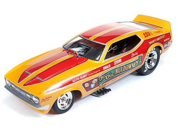 "1972 Ford Mustang Shirley ""Cha Cha"" Muldowney Funny Car by Auto World"