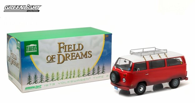 1973 Volkswagen Type 2 (T2B) Bus Field of Dreams by Greenlight Collectibles