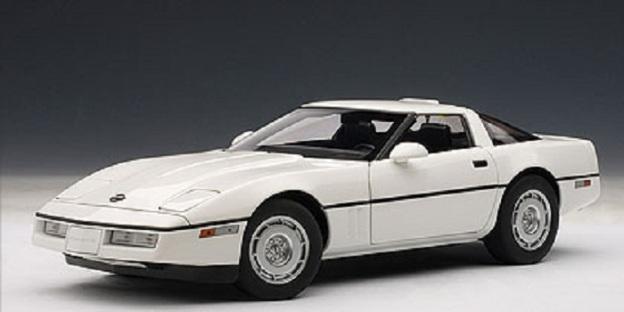 1986 Chevrolet Corvette by  AUTOart Diecast Models