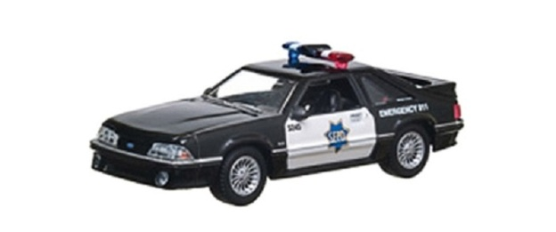 1993 Ford Mustang San Francisco Police Dept Diecast Car by Greenlight