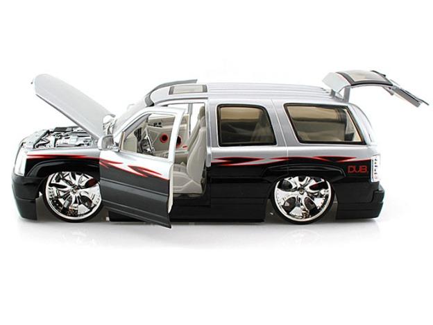2002 Cadillac Escalade DUB by Jada Toys Diecast