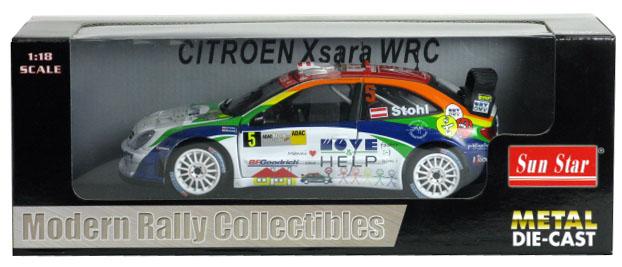 Citroen Xsara WRC Rally Deutschland 2007 by SunStar