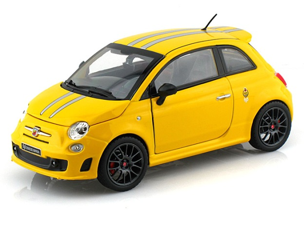 Fiat Abarth 695 Tributo Ferrari by Bburago