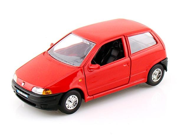 Fiat Punto Diecast Car by Bburago