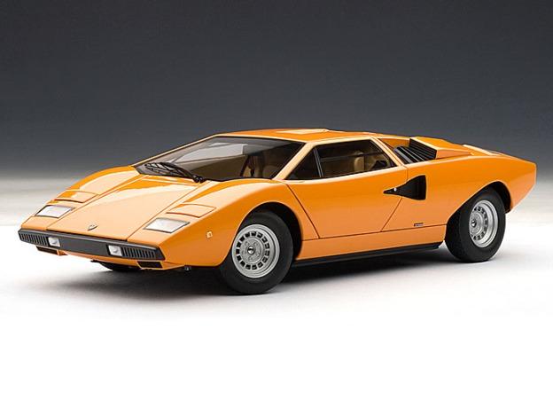 Lamborghini Countach LP400 by AUTOart Diecast Models