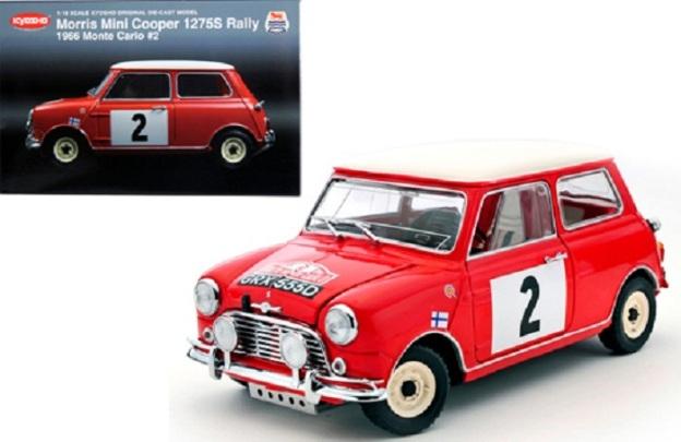 Morris Mini Cooper 1965 Montecarlo Win #2 by Kyosho